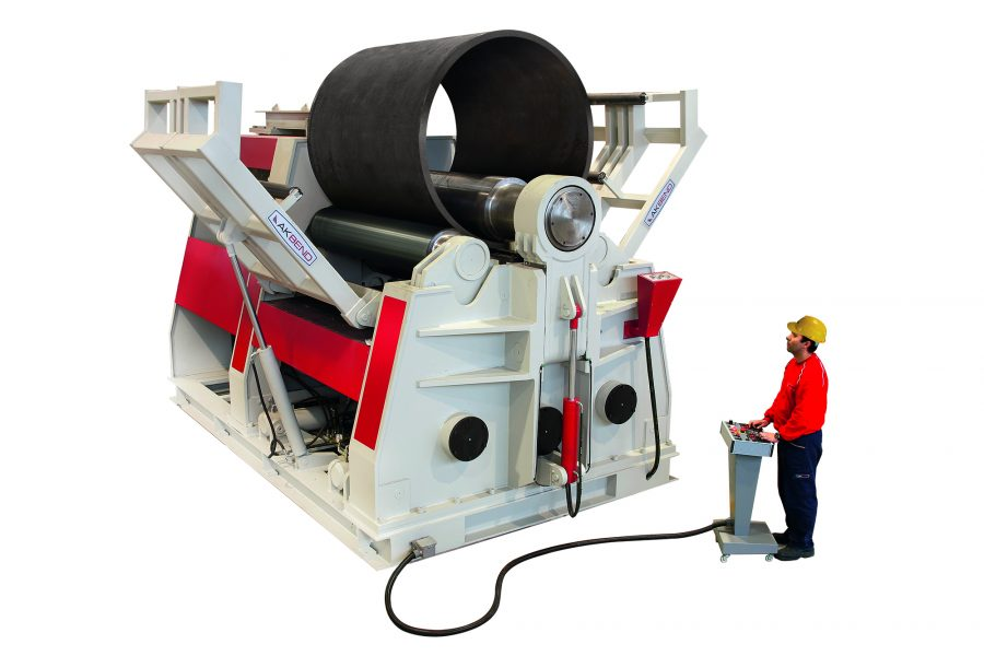 Akyapak AHS 4-Roll Plate bending machines