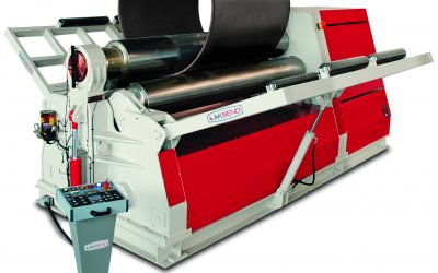Akyapak AHK 3-Roll Plate bending machines