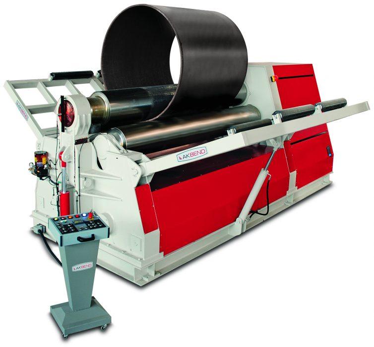 Akyapak AHK 3-Roll Plate bending machines